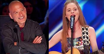 12-Year-Old Gives Lullaby A Country Makeover And The Judges LOVE It!
