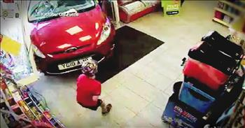 Little Boy Miraculously Survives After Bring Hit By A Car