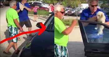 Man Trains Dog To Bite Wife
