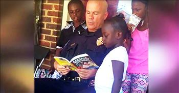Kind-Hearted Police Officer Helps Community Through Acts Of Service