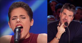 Cancer Survivor Impresses Judges With 'Fight Song' To Earn Golden Buzzer