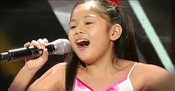 8-Year-Old's Audition Hits A Note With The Judges