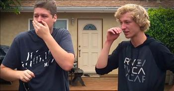Brothers See The World In Color For First Time