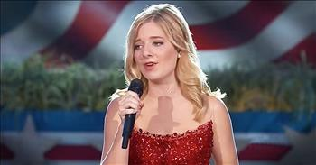 'God Bless America' - Chilling Jackie Evancho Performance