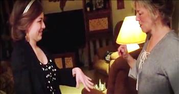 Mom Has Hilarious Reaction To Daughter's Engagement