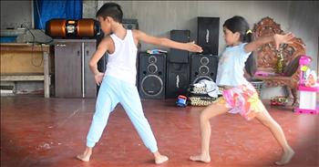 Young Dancing Duo Will Completely Take You Off Guard