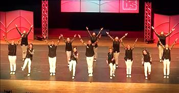 Amazing Tap Dance Routine Is Full Of Talent