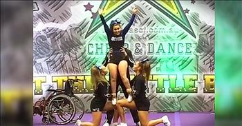 Cheerleader In Wheelchair Inspires The World With Routine
