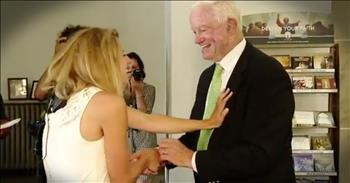 Bride Walked Down The Aisle By The Man With Her Father's Heart