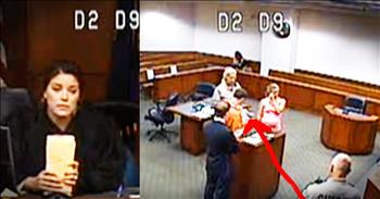 Judge Lets A Prisioner Meet His Baby For The First Time