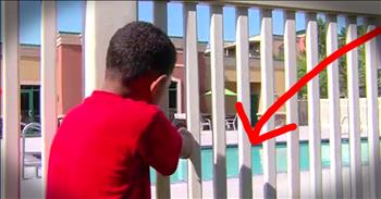 7-Year-Old Jumps In Pool To Save Toddler From Drowning