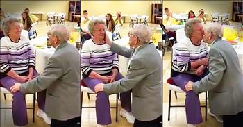 92-Year-Old Gets Down On 1 Knee To Serenade Wife Of 50 Years