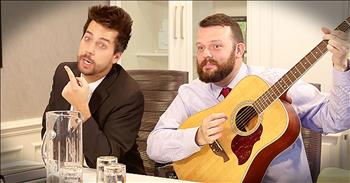 Christian Comedian John Crist Imagines How Worship Music Gets Made
