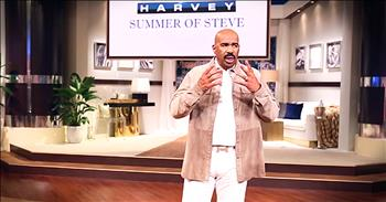 Steve Harvey Gives Terminally Ill Family Feud Contestant Some Of His Own Money