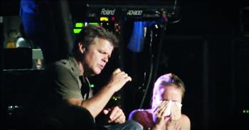 Lonestar Pulls Girl Who Lost Her Dad On Stage To Sing 'I'm Already There'