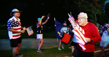 93-Year-Old Vet Started Running Across The Country To Remind People Of Freedom's Cost