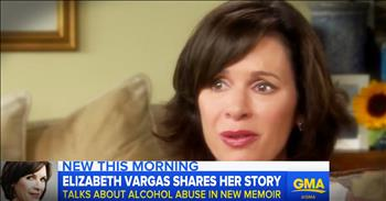 National News Anchor Elizabeth Vargas Shares Struggle With Alcoholism