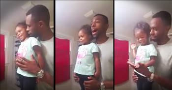 Inspirational Daddy-Daughter Morning Pep-Talk