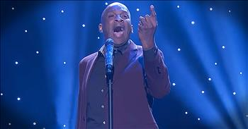 Soulful Gospel Singer Performs 'I Need You' On Talk Show