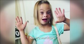 Little Girl With Down Syndrome Answers Questions To Educate Others