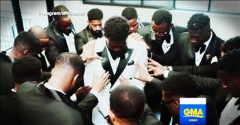 Police Officer's Body Cam Catches Amazing Surprise For A Bride