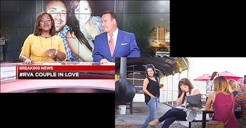 News Anchors' Breaking News Report Turns Into Proposal