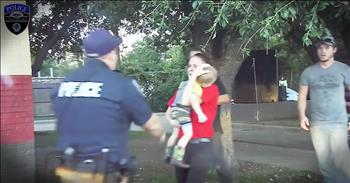 Dashcam Records Officer Saving A 3-Year-Old's Life