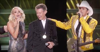Country Artists Help Randy Travis Sing 'Forever And Ever Amen' After Stroke