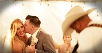 Country Singer Surprises Bride And Groom During First Dance