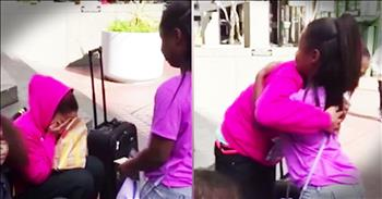 Little Girl Brings Homeless Mom To Tears With Gift