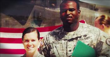 Military Couple Gets Beautiful Welcome Home Surprise