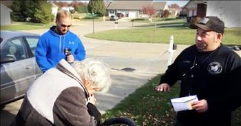 Repo Man Buys Car For An Elderly Couple In Need