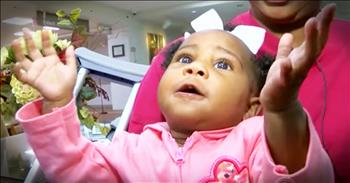 Miracle Baby Lives After Being Thrown From A Car Into A Storm Drain