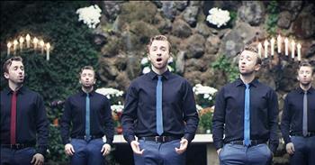 One Man Sings A Cappella 'O Come O Come Emmanuel'