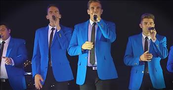 Male A Cappella Group Sings 'God Rest Ye Merry Gentlemen'