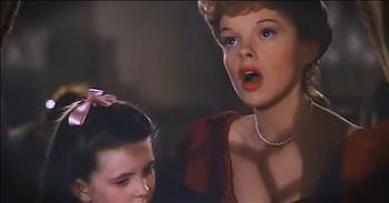 Judy Garland Sings 'Have Yourself A Merry Little Christmas'