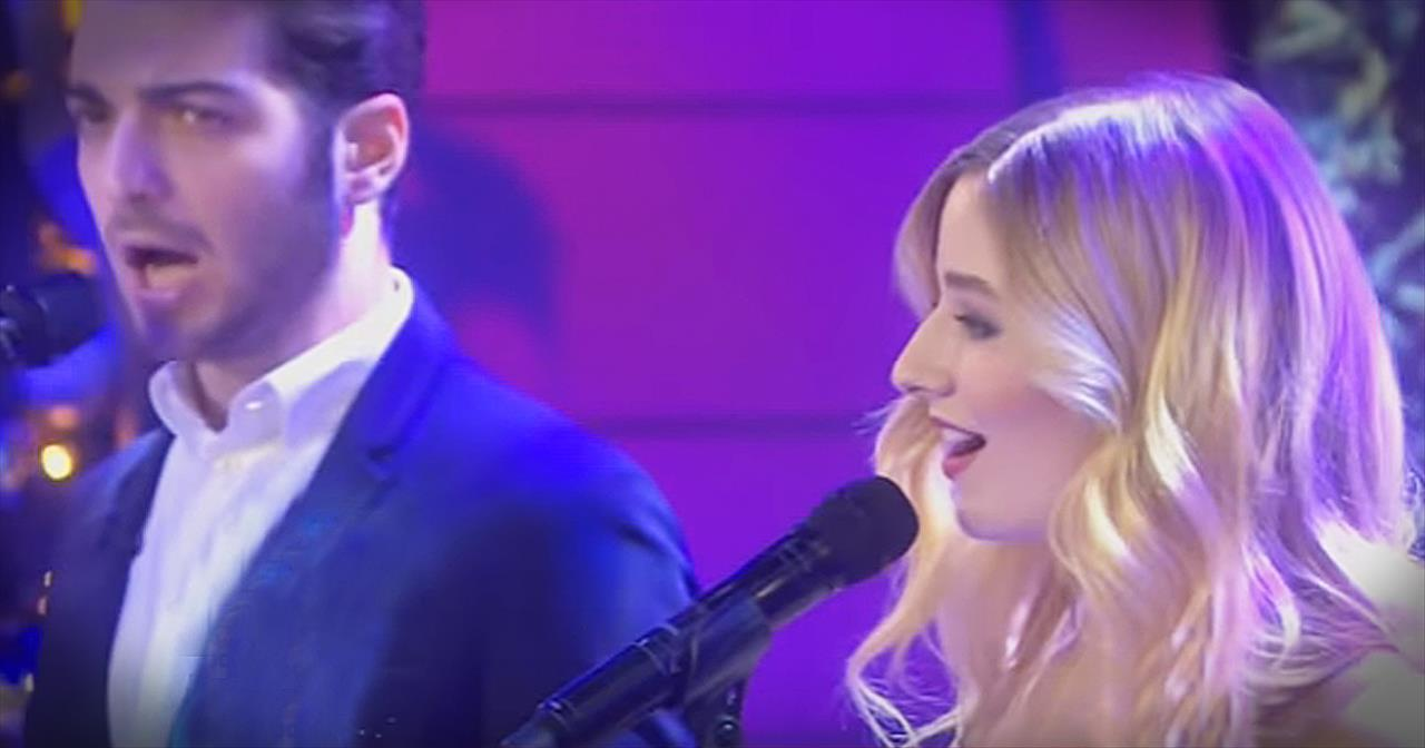 Jackie Evancho Performs 'Little Drummer Boy' On National TV
