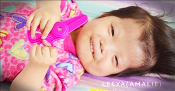 Family Adopts Sick Little Girl After Call From God