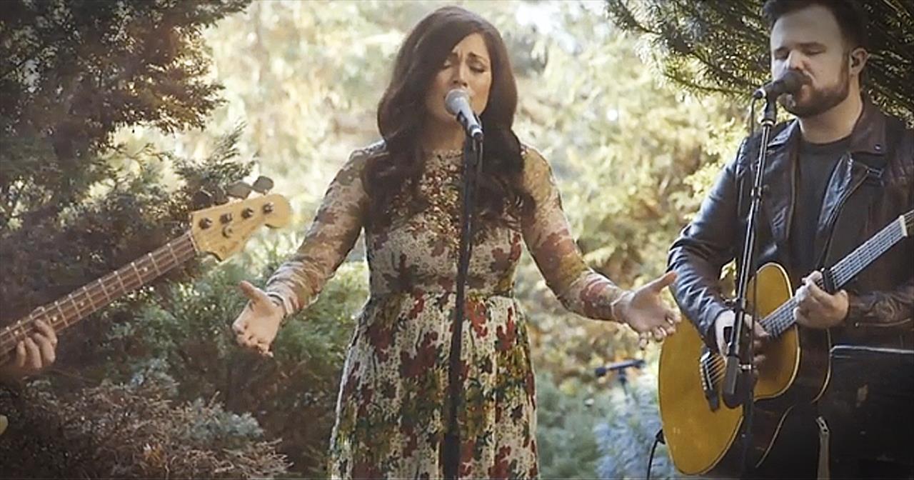 Heal Our Land\' - Acoustic Kari Jobe Performance - Christian Music Videos