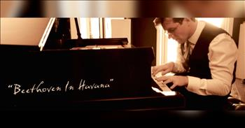 Watch This Piantist Use The Entire Piano To Create This Cuban Rumba Beethoven Arrangement