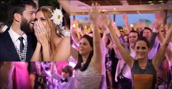 400 Guests Just Surprised The Bride And Groom With The Most Epic Flash Mob