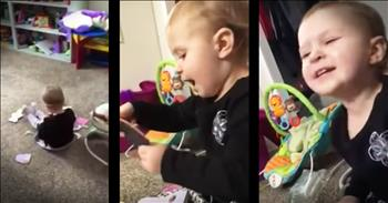 Mom Catches 2-Year-Old Daughter Adorably Singing 'Jolene'
