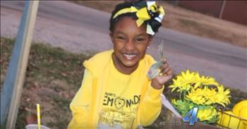 Former Foster Kindergartener Pays Her Blessings Forward With Her Wonderful Service