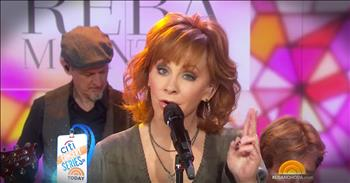 Reba Chats With Kathie Lee And Hoda And Performs 'God  My Girlfriends'