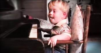 Blind And Crippled From Birth, But God-Blessed With Musical Talent