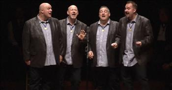 Crossroads Barbershop's Toe Tapping 'Give Me The Simple Life'