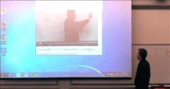 Teacher Pulls The Coolest April Fool's Prank On His Students