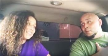 Father-Daughter Share Duet Of 'Blue Ain't Your Color'