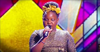 Little Worshiper With A Big Voice Wows With 'Amazing Grace'