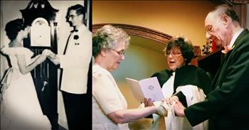 High School Sweethearts Reunite 64 Years Later